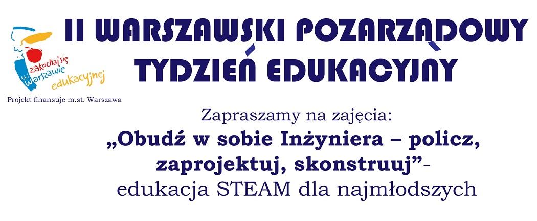 II Warszawski Pozarządowy Tydzień Edukacyjny